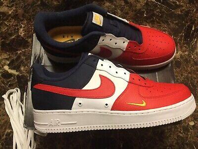 Air Force 1 07 LV8 Red White & Blue ( July 4th ) Size 13 Brand New w Orginal Box | eBay