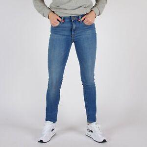 Levi-039-s-711-Skinny-hellblau-Damen-Jeans-DE-36-W28-L30