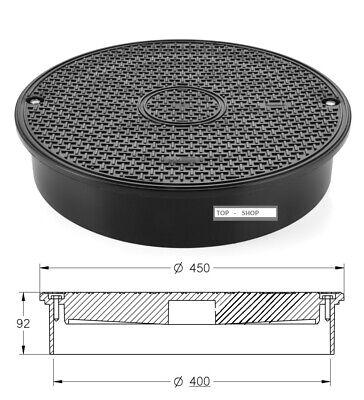 Zielstrebig Schachtabdeckung Dn 400 A15 Teleskopabdeckung Kanaldeckel Verpackung Der Nominierten Marke Business & Industrie