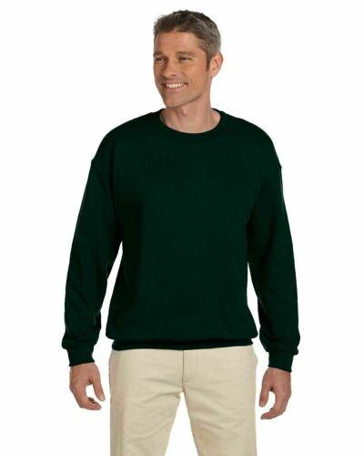 environ 274.99 g Hanes F260 adultes 9.7 OZ Ultimate Coton ® 90//10 Fleece Crew