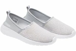 Details about adidas NEO Women's Cloud Lite Racer Slip On Casual Sneaker Grey Pick A Size
