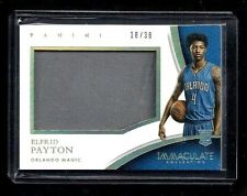 Elfrid Payton Immaculate PLAYER CAPS Hat Patch Rookie #38! RARE Orlando Magic RC