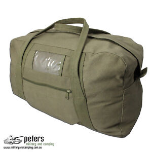 Army-Style-Echelon-Heavy-Duty-Cotton-Canvas-Bag-In-Olive-Drab-Green