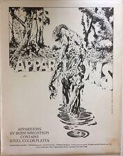Apparitions Portfolio by Bernie Wrightson, AUTOGRAPHED 4 Color Plates, NICE!