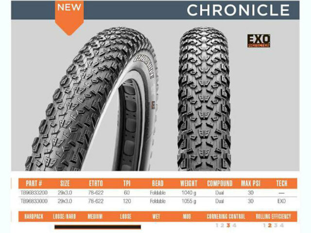 MAXXIS TB96833300  CHRONICLE 29X3.0 DC EXO TR 120TPI