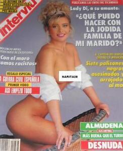Detalles De Interviu 868 Almudena Santaolalla Astrid Pacchini Silvia Leblanc Lady Di Ex