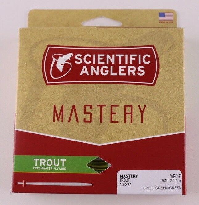 Scientific Anglers Mastery Trout Fly Line WF2F Free Expedited Shipping 102827