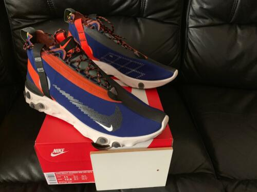 Ispa Runner Orange Nike Équipe React Wr Mid Nouveau Tailles les Bleu 2018 Toutes EgfaXWwqxn