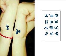 Removable Stickers Body Art Tatoo Temporary Arm Tattoos Waterproof--Zodiac