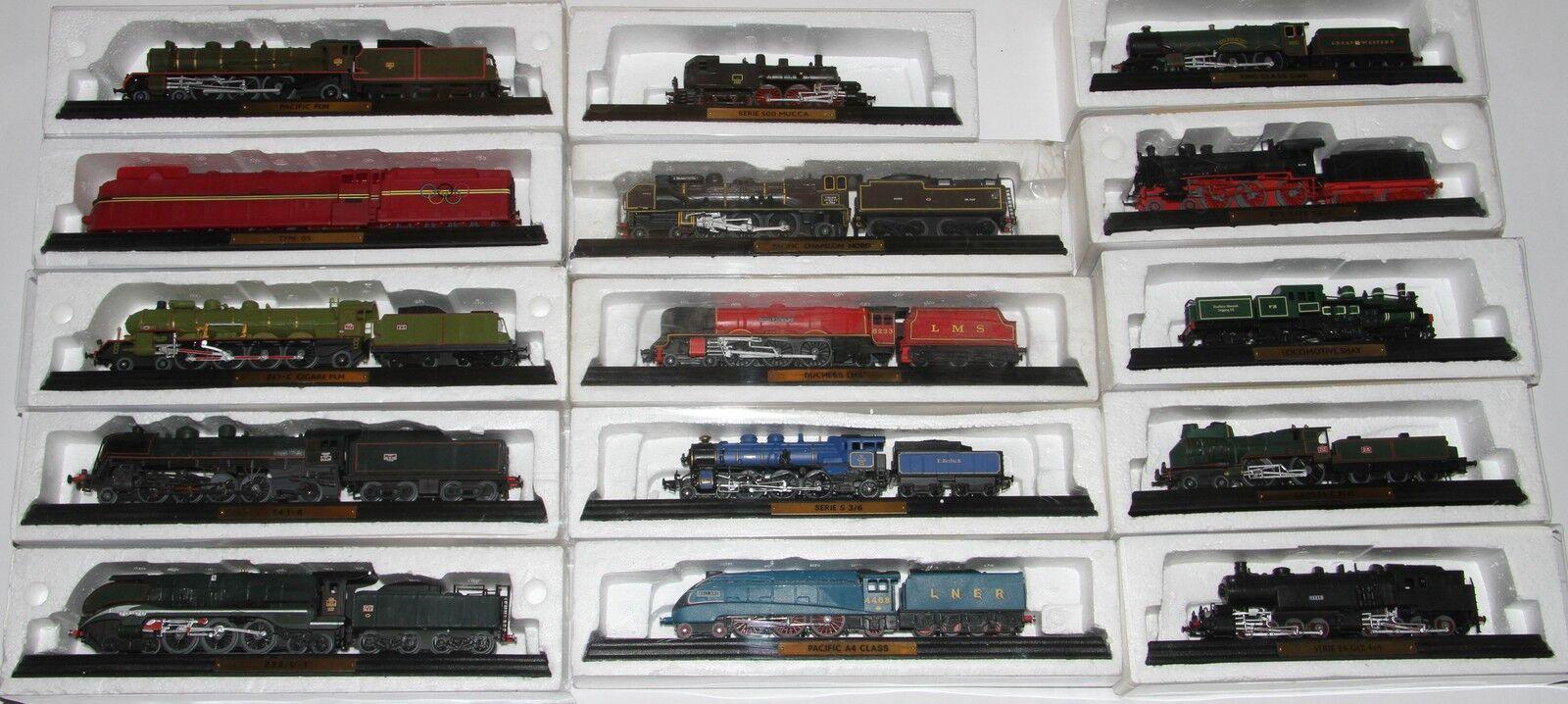 Locomotora de Vapor  Locomotora Locomotora Train Standmodell Atlas Maßstab