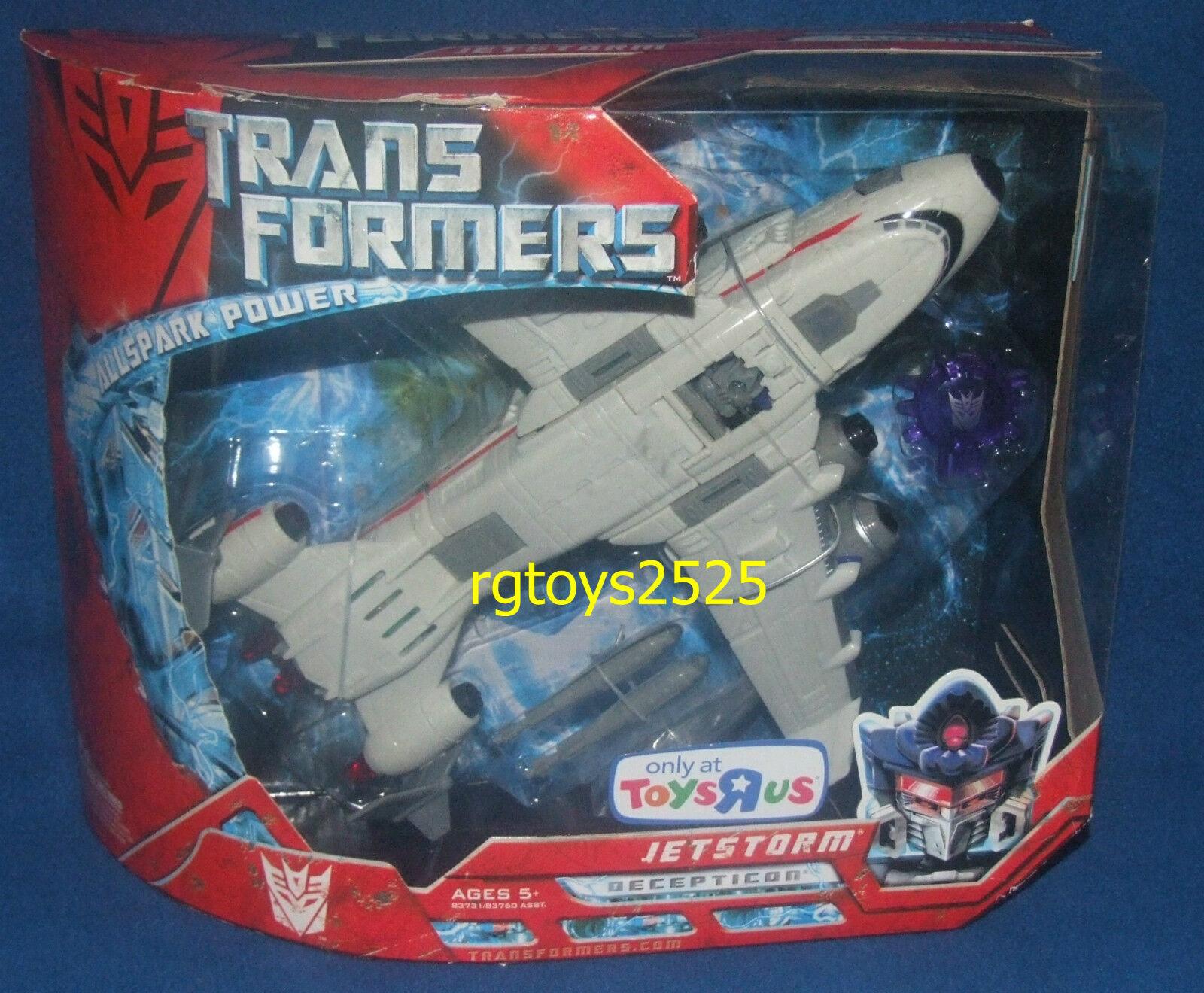 Transformers jetstormJuguetes R exclusivo Película Nuevo Sellado De Fábrica Us 2007