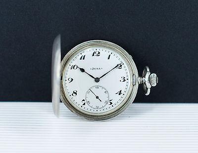 Ultra Rare - Full Hunter DOXA - Silver pocket watch