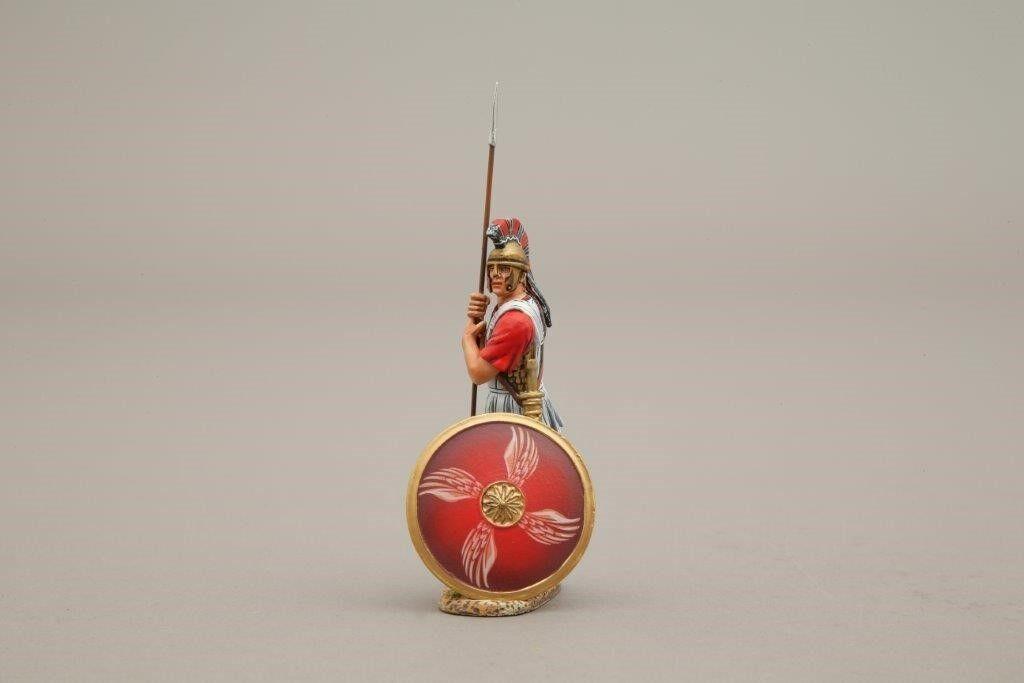 Thomas Gunn Miniatures SPA004E Spartan Sentry 4 Wing Red Shield 1 30 Soldier