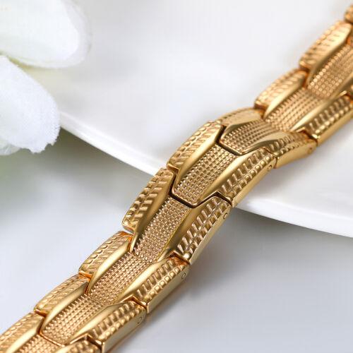 Acier Inoxydable Magnétique Thérapie Bracelet Hématite Balance Bracelet pour hommes