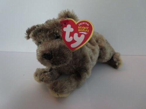 Ty Beanie Babies Cutesy the Puppy dog 2004 PE Pellets Mint w// Tag