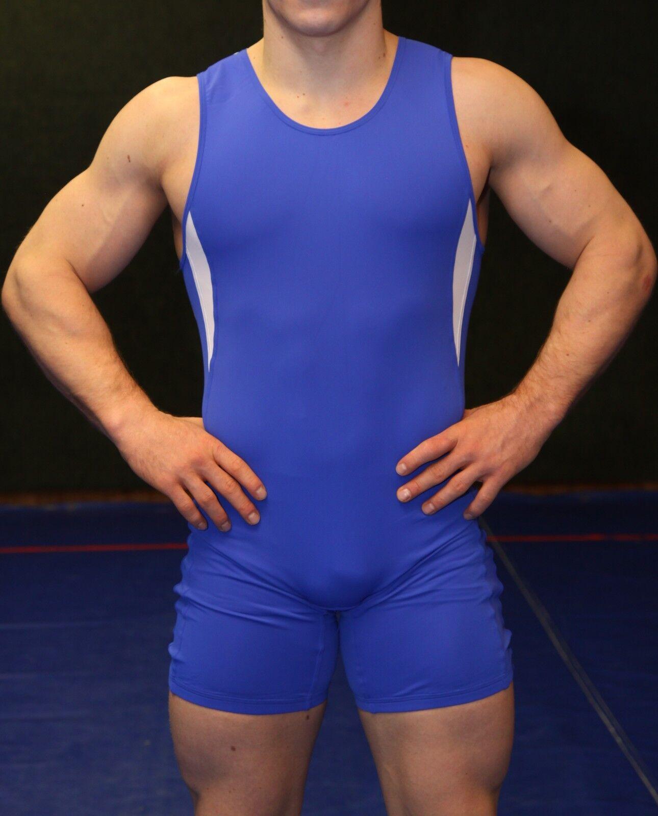 NEU    Wrestler Sport Ringertrikot  Gladiator    (blau, Gr. XS-XXL)  | Verrückter Preis  | Online-verkauf  | Die erste Reihe von umfassenden Spezifikationen für Kunden  2464dd