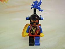 Lego Figur Castle Ritter Dragon Master cas236 + Cape + Helmschmuck blau 6105