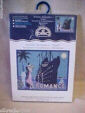 "NIP DMC Counted Cross Stitch Kit~Holiday Romantics ""LINER""~Romance K4244US"