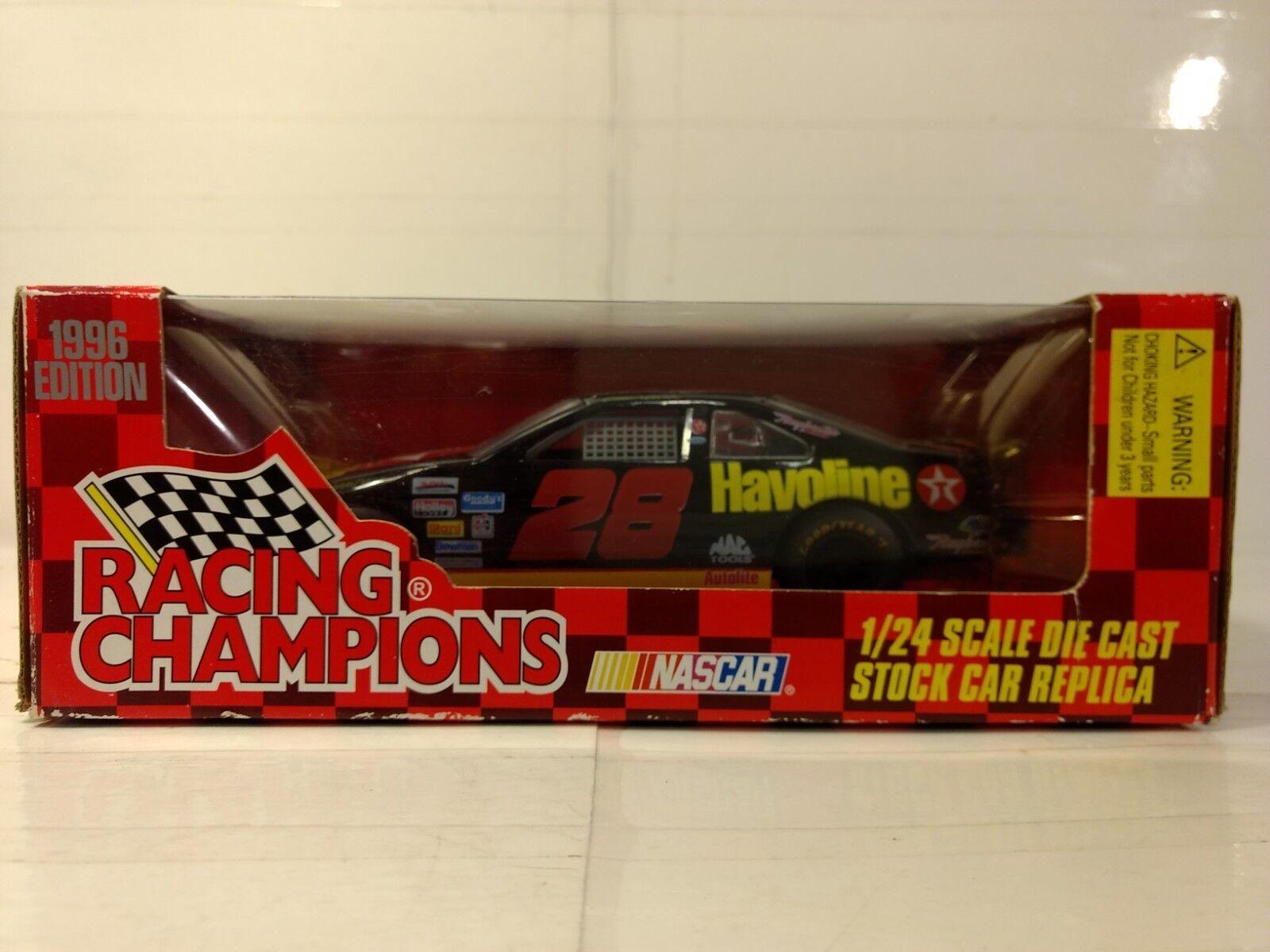 Racing Champions Ernie Irvan Havoline Ford 1 24 Skala-Modelle Neu Dc2283