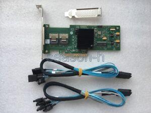 LSI-SAS-9210-8i-8-port-6Gb-s-PCIe-RAID-SATA-Controller-card-2pcs-SFF-8087-cables