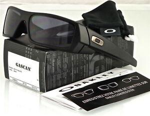 84a761336f0 NEW Oakley Gascan Sunglasses Matte Black l Grey 03-473 2001040004292 ...