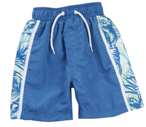 Boys Childrens Swim Shorts Swimming Trunks Swimwear Bermuda Panel Print CARGOBAY