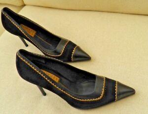 Camoscio Badgley Nero Nuovo Scarpe Tacchi Camoscio Nero 4 Mischka Scarpe Nuovo Classico Mischka 4 Badgley Classico Tacchi ABqPSxR