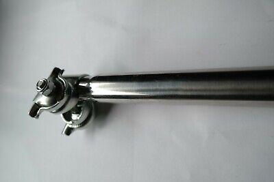 NIE WIEDER festgerostete Sattelstütze aus EDELSTAHL bis200kg bel NIROSTA 26,4mm