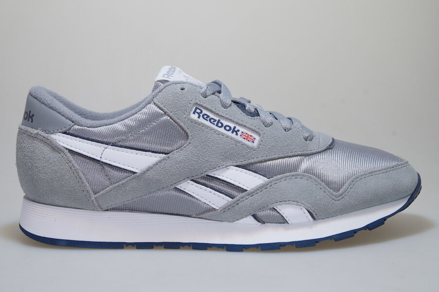 Reebok Classic Nylon 36088 grau grey Männer men Schuhe
