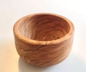 Olivenholz Schälchen Teller Schale viereckig Handarbeit Baum Holz