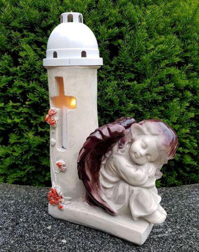 Ange figurine sépulture sépulture lumignons sépulture Ange Gardien Ange personnage.