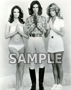 8x10 photo Jaclyn Smith Charlie/'s Angels TV star publicity photo