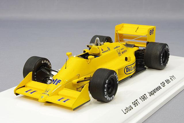REVE 1 43 LOTUS  99 T Japan GP 1987  11 S. Nakajima du Japon  commander maintenant les prix les plus bas