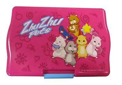 Zhu Zhu Pet Sandwich Lunch Box Pink Kids Food Container