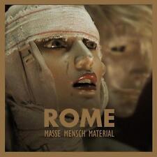 ROME Masse Mensch Material CD  ordo rosarius equilibrio Death in June Blood Axis