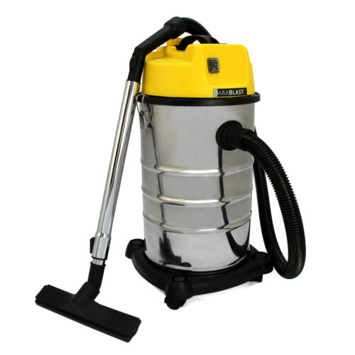 Industrial Wet /& Dry Aspirapolvere COMMERCIALE IN ACCIAIO INOX attrezzature tools