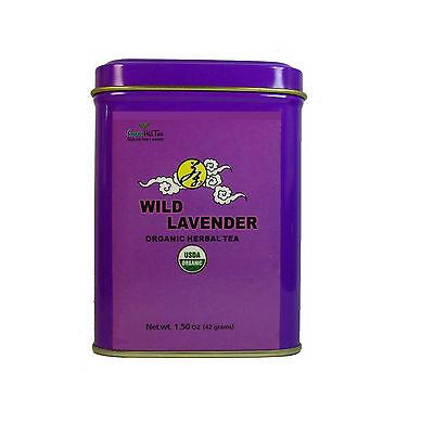 Organic Wild Lavender herbal  tea loose tea 1.50  OZ