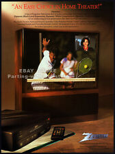 ZENITH - PROJECTION TELEVISIONS__Original 1993 Trade Print AD promo / poster__TV