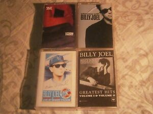 4x-BILLY-JOEL-CASSETTE-TAPES-LOT-STORM-FRONT-GREATEST-HITS-INTERVIEW-FREE-POST