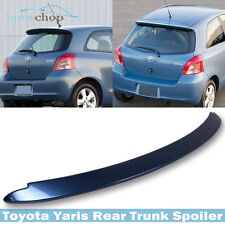 Painted for TOYOTA Yaris Hatchback OE Style Rear Roof Spoiler Wing #8R3 Blue