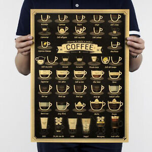Newest-Coffee-Cup-Daquan-Bars-Kitchen-Drawing-Poster-Adornment-Retro-Literary