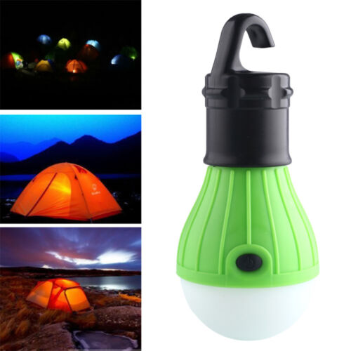 Hot Outdoor LED Hanging Camping Tent Light Bulb Fishing Lantern Lamp #E4