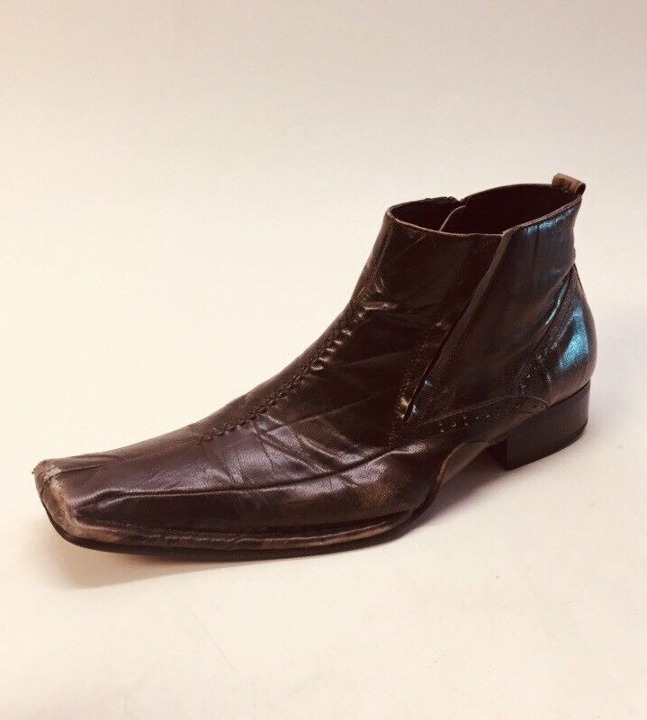 Giorgio Brutini Mens braun Tobacco Leaf Leather Chukka Zip Ankle Stiefel Größe 11 M