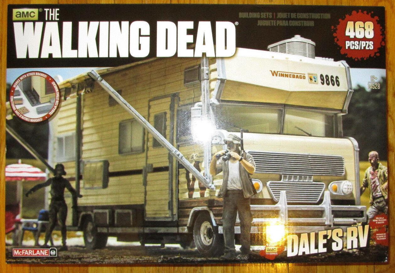 Mcfarlane The Walking Dead Dale de RV Construction Building Set 468 un. Camper