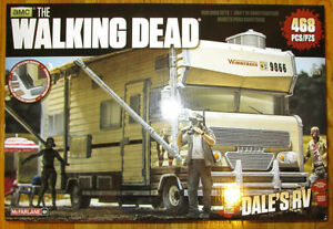 Mcfarlane Le bâtiment de construction de RV Dead Walking de Dale, ensemble 468 Pcs