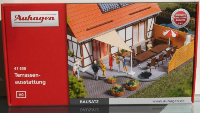 Auhagen terrassenausstattung 41650