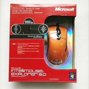 Microsoft-IntelliMouse-Explorer-3-0-9000FPS-25G-54IPS-Optical-mouse-Orange