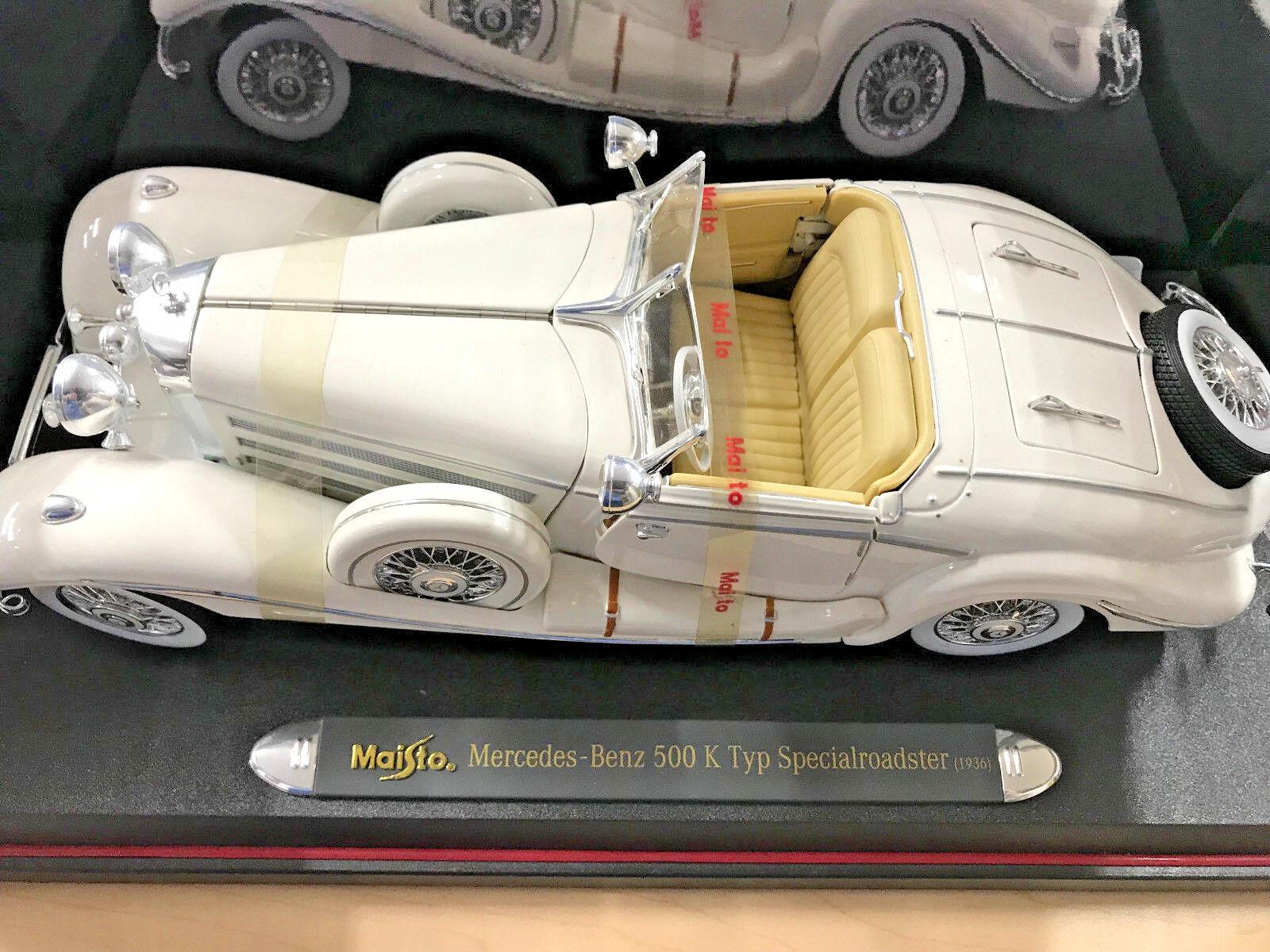 Maisto mercedes-benz 500 k roadster - 1936 typ besondere
