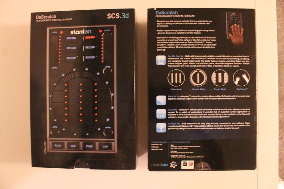 2x, Stanton DaScratch SCS.3D