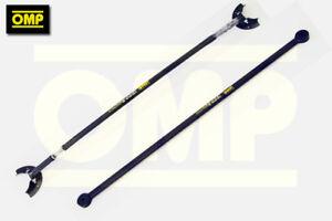 OMP-ANTHRACITE-Twin-Strut-Brace-Set-Renault-Clio-172-182-Cup